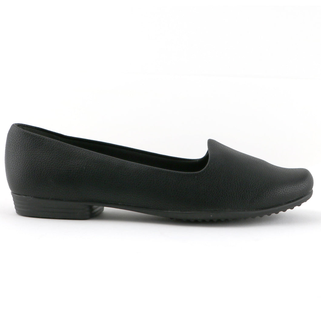 Black Ballerina Flats for Women RELAX (250.132) - SIMPLY SHOES HONG KONG