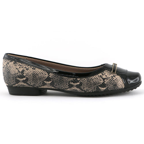Black Ballerina for Women (251.064) - SIMPLY SHOES HONG KONG