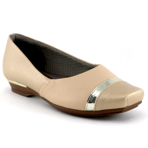Nude Flats Ballerina for Women (147.143)