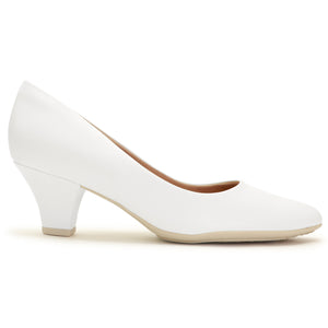White Napa Pumps for Women (703.001)