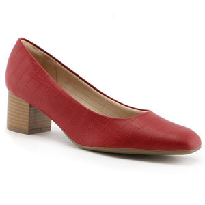 Red Pumps for Women (151.001) - SIMPLY SHOES HONG KONG
