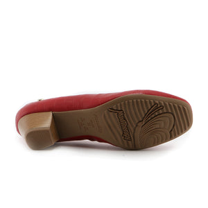 Red Pumps for Womens (320.221) - SIMPLY SHOES HONG KONG