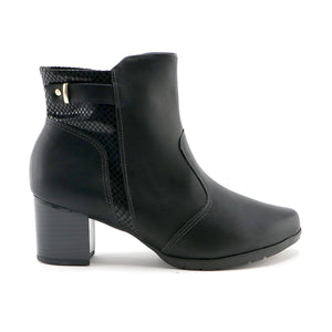 Black Ankle Boots for Women (331.019) - SIMPLY SHOES HONG KONG