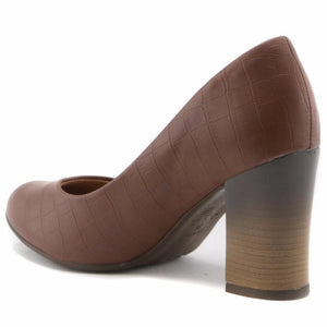 Brown Pumps for Women (690.074) - SIMPLY SHOES HONG KONG