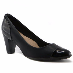Black Pumps for Women (700.058) - SIMPLY SHOES HONG KONG