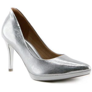 Silver Pumps for Women  (722.030) - SIMPLY SHOES HONG KONG