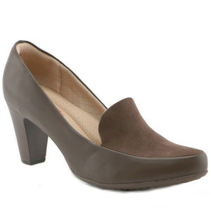 Brown Pump for Women (130.171)