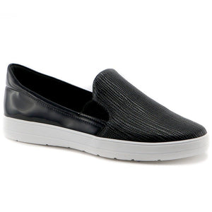 Black sneakers for Women (961.023) - SIMPLY SHOES HONG KONG