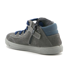 Grey suede Boys casual ankle Boots (SS-8023)