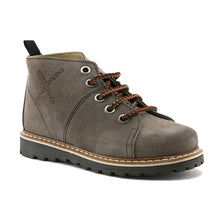 Grey suede Boys stylish Ankle Boots (SS-8024) - SIMPLY SHOES HONG KONG
