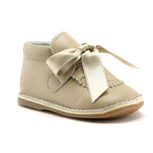 Beige Leather shoe (SS-7075)