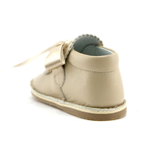 Beige Leather shoe (SS-7075) - SIMPLY SHOES HONG KONG
