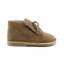 Hazelnut Soft Suede Infant and girl Bootie (SS-7078)