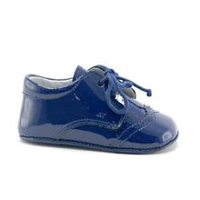 Navy patent leather dress infant shoe (SS-7085) - SIMPLY SHOES HONG KONG