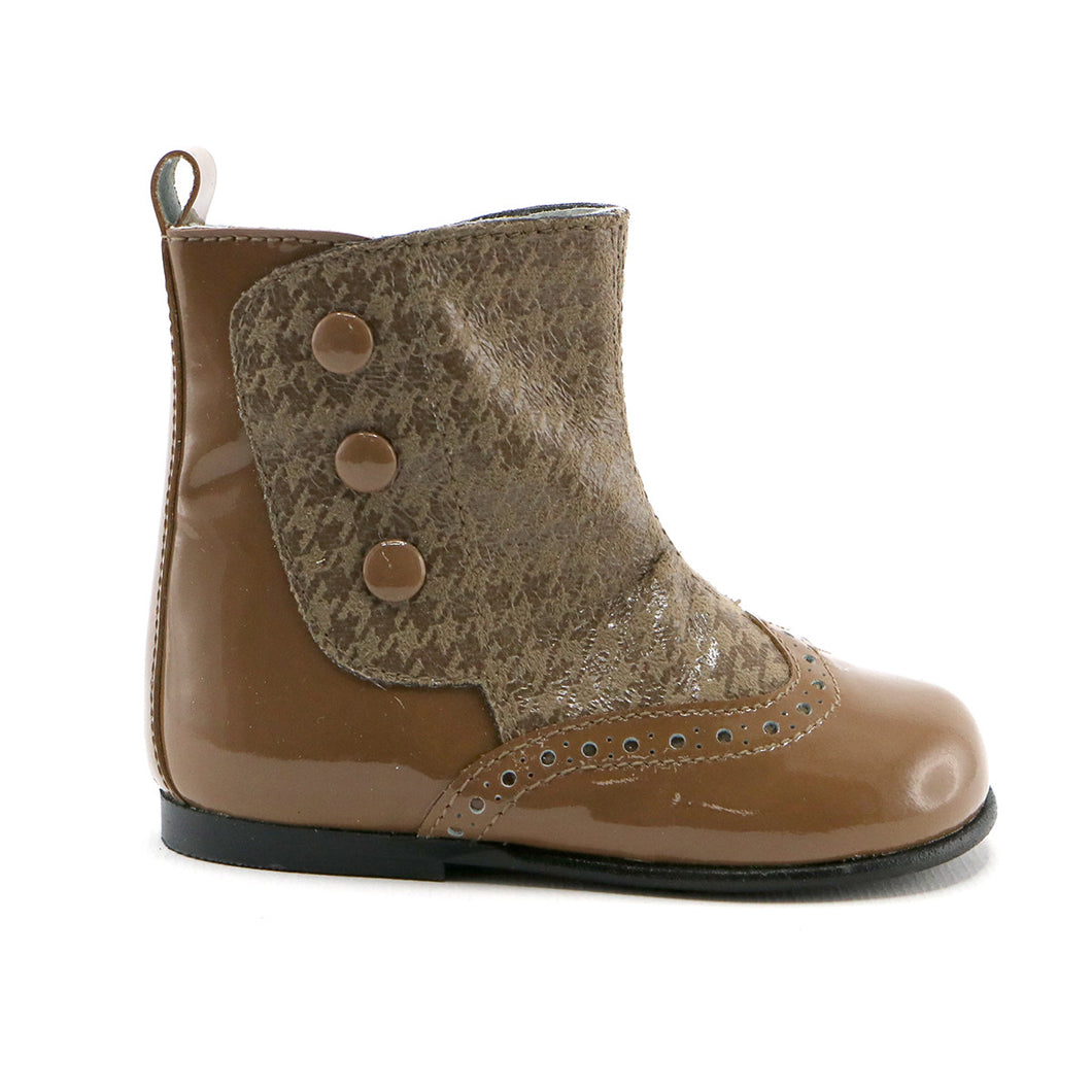Peanut Patent party  boot (SS-7089) - Simply Shoes Hong Kong