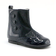 Black patent party boots (SS-7090) - SIMPLY SHOES HONG KONG