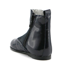 Black patent party boots (SS-7090)
