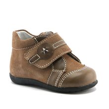 Tortilla combo leather shoes (SS-8035)
