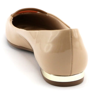 Taupe Flat Pumps for Women (274.032)