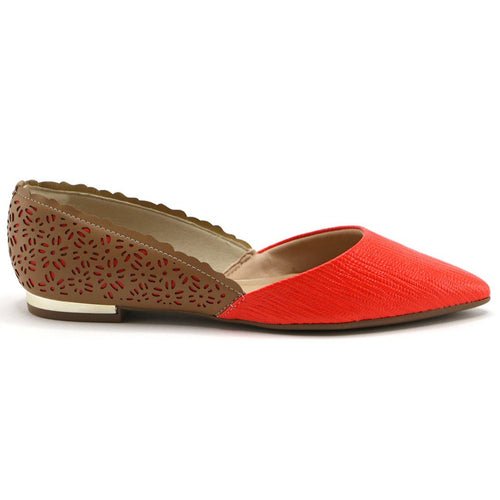 Orange pumps for Women (274.030) - SIMPLY SHOES HONG KONG