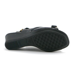 Black sandals for Women (153.007) - SIMPLY SHOES HONG KONG
