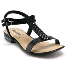 Black Sandals for Women (553.040) - Simply Shoes Hong Kong