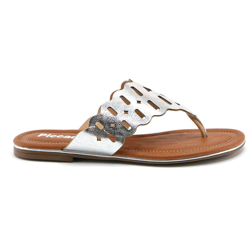 Silver Sandals for Women (533.002)