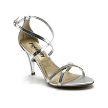 Silver Sandals for Women (737.003) - SIMPLY SHOES HONG KONG