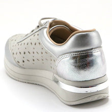 Silver Sneakers for Women (973.008) - SIMPLY SHOES HONG KONG