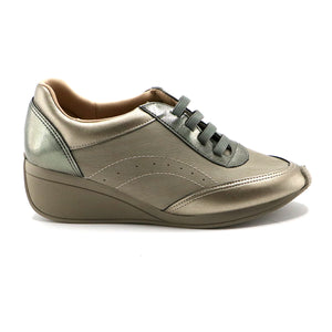 Bronze Sneakers for Women (962.020)