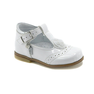 White leather Mary Jane (SS-7098)