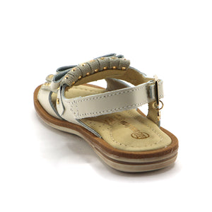 Beige Leather Tassel Girls Sandals (SS-7112) - SIMPLY SHOES HONG KONG