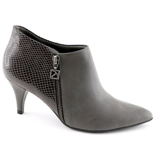 Grey Napa Snake Ankle Boots (745.055) - SIMPLY SHOES HONG KONG