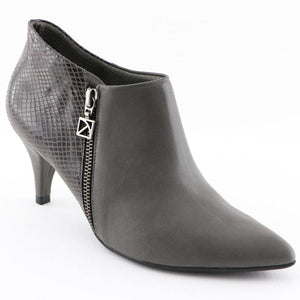 Grey Micro with snake Ankle Boot (745.055)