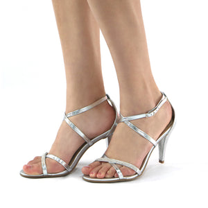 Silver Sandals for Women (737.003)