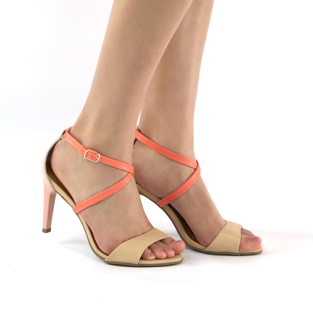 Beige Sandals for Women (727.016) - SIMPLY SHOES HONG KONG