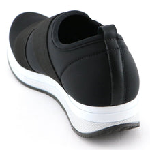 Black Elastic Casual Sneakers (973.018)