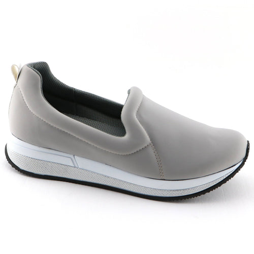 Grey Casual Sneakers (973.017) - SIMPLY SHOES HONG KONG