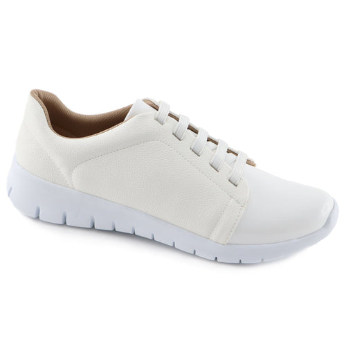 White Casual Sneakers (970.013)