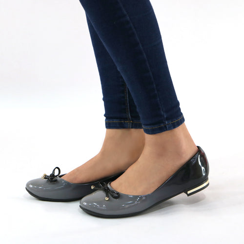 Grey Shoes for Women (100.198)