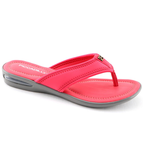 Pink Flat Sandals (517.012) - SIMPLY SHOES HONG KONG
