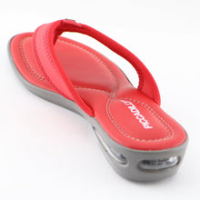 Red Flat Sandals (517.012)