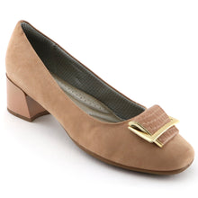 Beige Microfiber Pumps (320.261) - SIMPLY SHOES HONG KONG