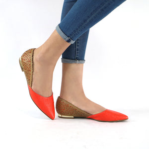 Orange pumps for Women (274.030)