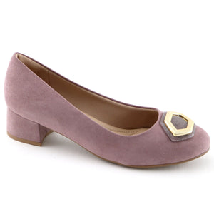 Lilac Microfiber Pumps (141.070) - SIMPLY SHOES HONG KONG