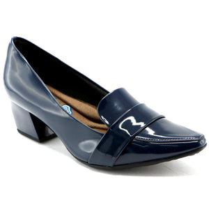 Navy Pat Pumps for Womens (744.039)