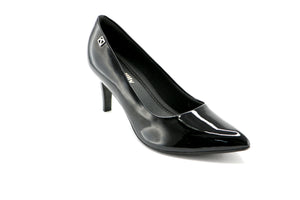 Black Pat Pumps for Womens (745.050)