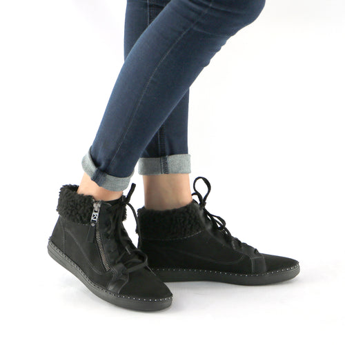 Black Ankle Boot (964.006) - SIMPLY SHOES HONG KONG