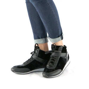 Black Casual Boot (968.008) - SIMPLY SHOES HONG KONG
