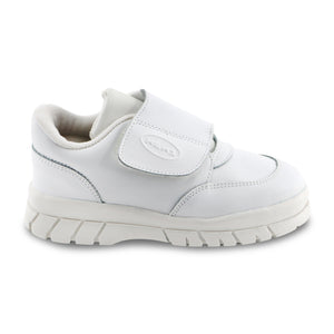 White Leather sneakers (SS-7135) - SIMPLY SHOES HONG KONG